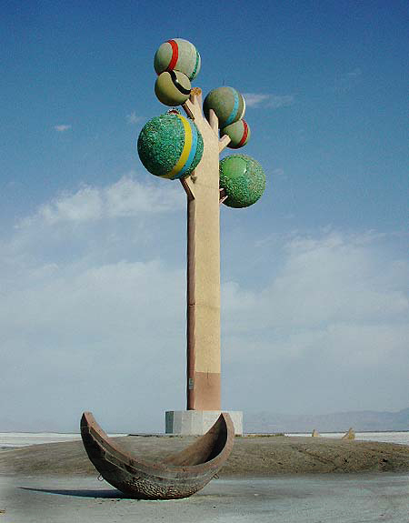 Metaphor, the Tree of Utah. Seth Rosenblatt (c) 2002
