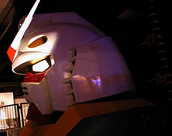 The Gundam section of the Bandai Museum, <b>Discount Augmentin</b>, Matsudo, Chiba Prefecture.