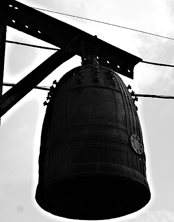 An old bell, two.
