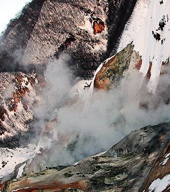 Jigoku-dani - the Valley of Hell, three.