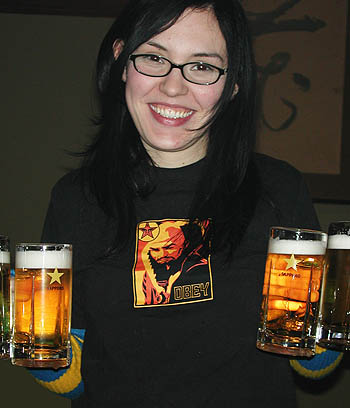 Skye, the Beer Wench
